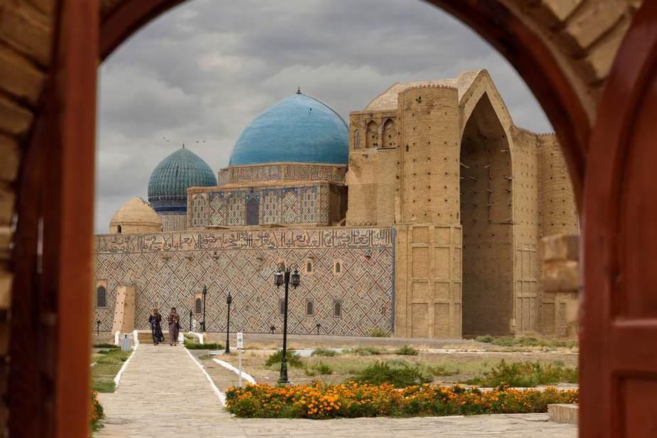 Mausoleum von Hodscha Ahmad Yasawi Kasachstan Sehenswürdigkeiten - Die 20 besten Attraktionen