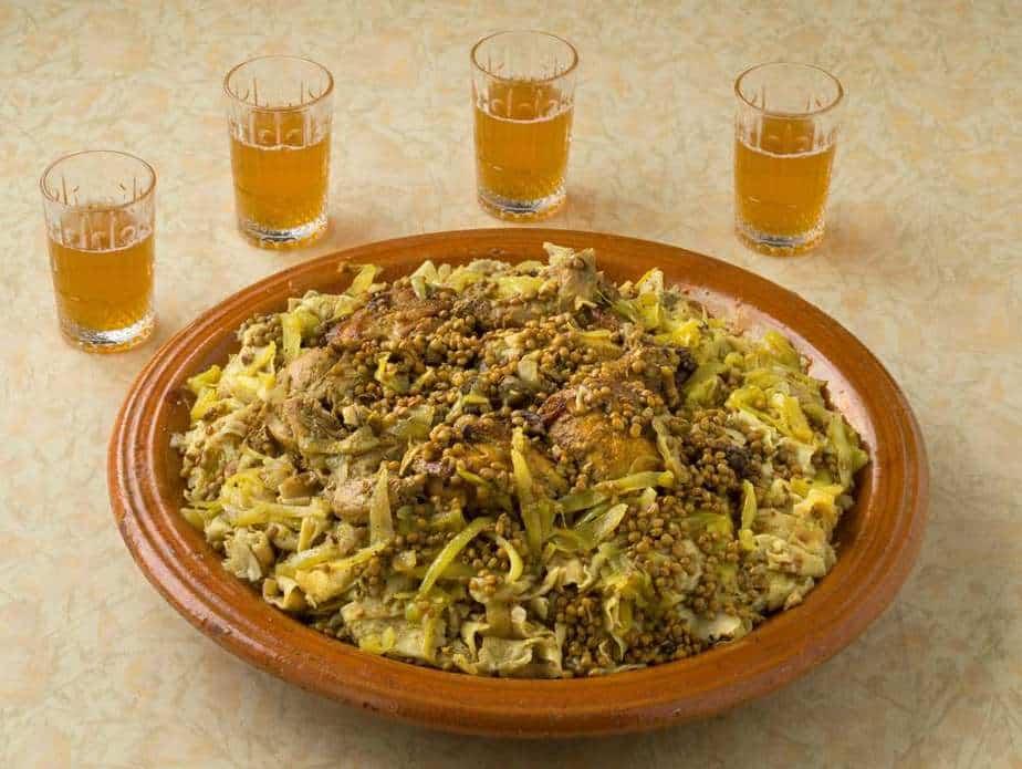 Rfissa Marokkanische Spezialitäten: 20 typisch Marokkanische Essen, Die Sie Probieren Sollten