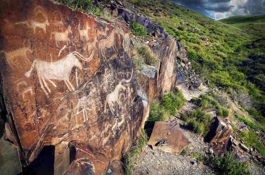 Tamgaly mit Petroglyphen Kasachstan Sehenswürdigkeiten - Die 20 besten Attraktionen