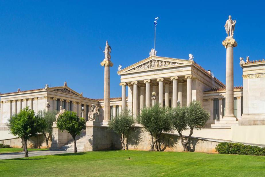 Akademie von Athen Athen Sehenswürdigkeiten - Die 20 besten Attraktionen