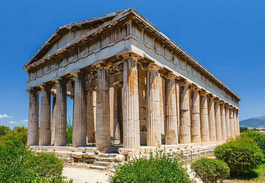 Antike Agora - Ruinen des Marktplatzes Athen Sehenswürdigkeiten - Die 20 besten Attraktionen