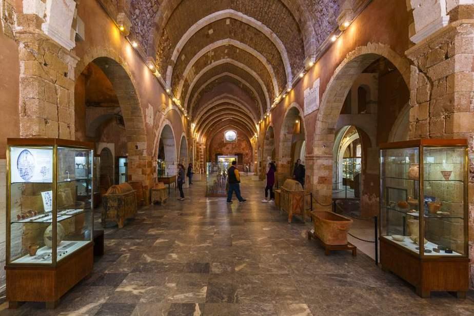 Archäologisches Museum von Chania Kreta Sehenswürdigkeiten - Die 20 besten Attraktionen