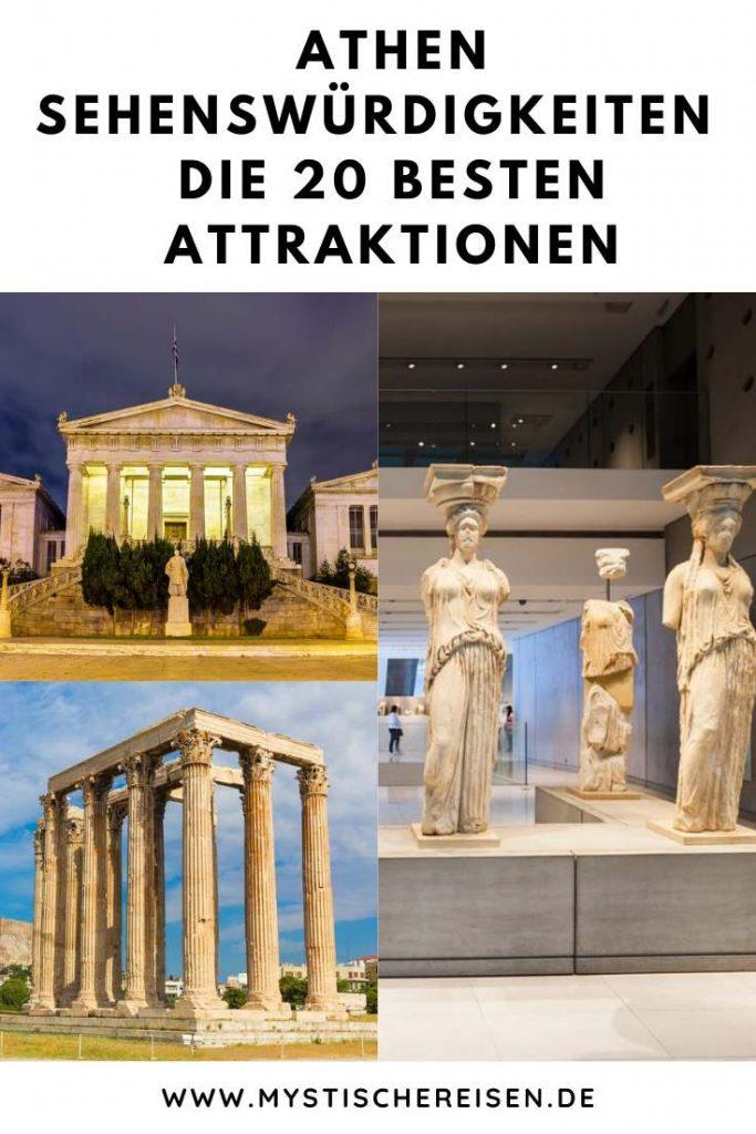 Athen Sehenswürdigkeiten - Die 20 besten Attraktionen