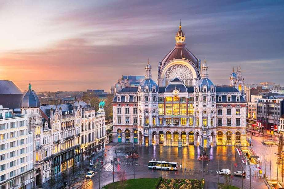 Bahnhof Antwerpen-Centraal Belgien Sehenswürdigkeiten - Die 20 besten Attraktionen