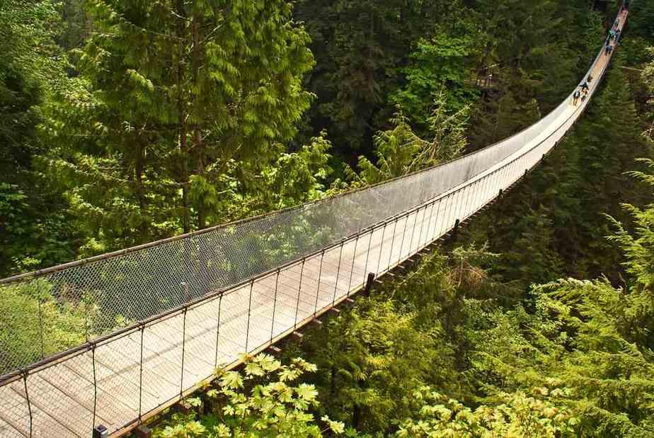 Capilano Suspension Bridge Vancouver Sehenswürdigkeiten - Die 20 besten Attraktionen