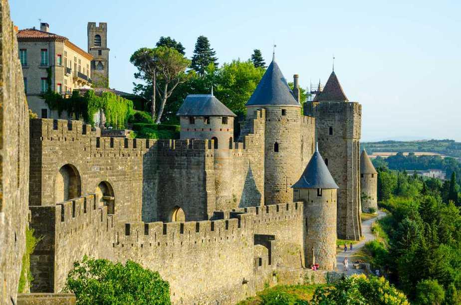 Carcassonne Die 7 schönsten Schlösser in Frankreich