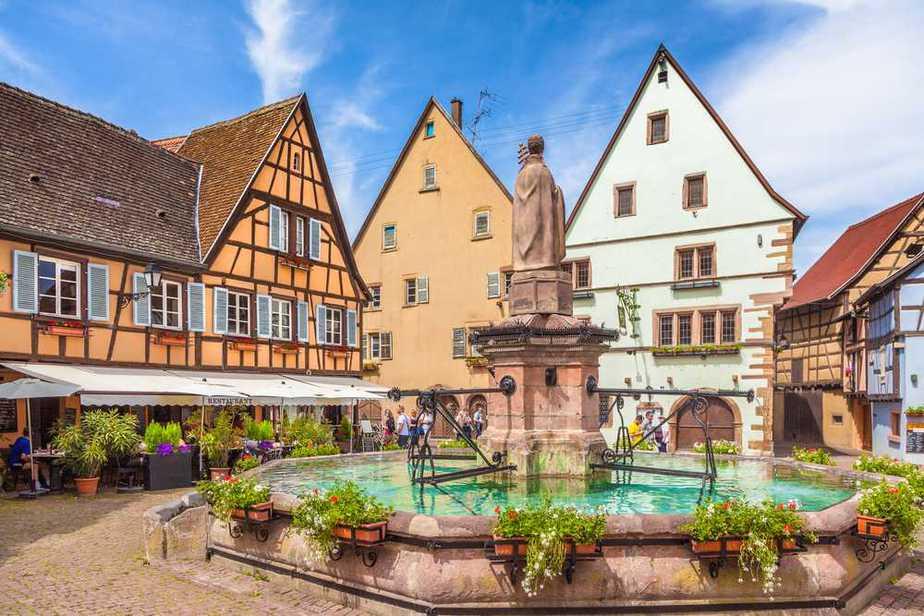 Egisheim Die schönsten Dörfer Frankreichs
