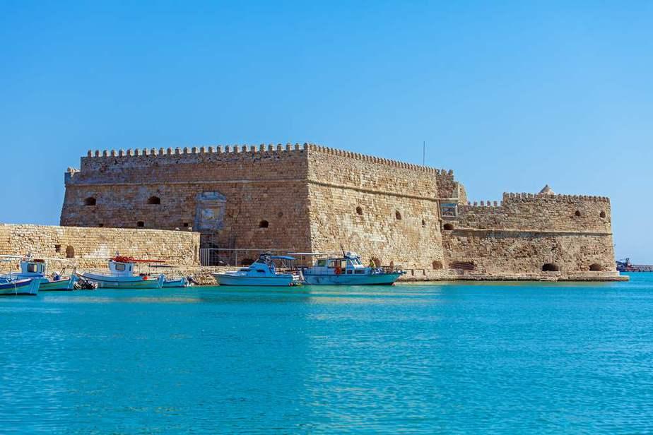 Festung Koules Kreta Sehenswürdigkeiten - Die 20 besten Attraktionen