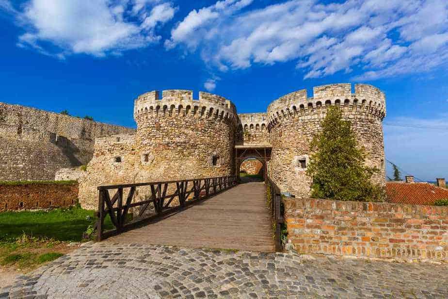 Festung von Belgrad Die romantischsten Orte in Belgrad, Serbien