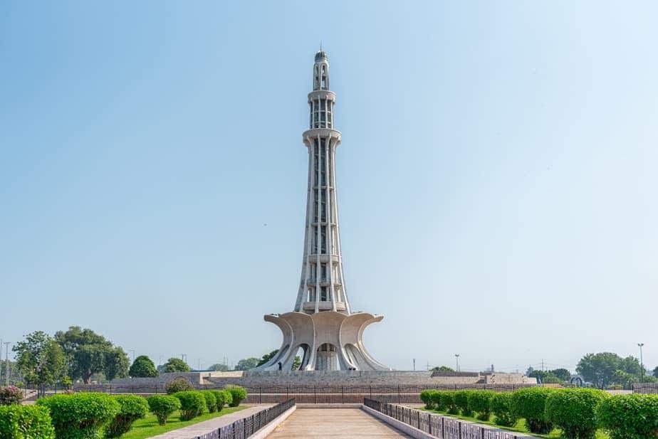 Minar-e-Pakistan Pakistan Sehenswürdigkeiten - Die 20 besten Attraktionen