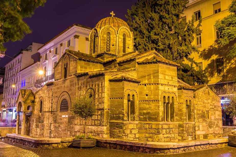 Panagia Kapnikaréa Kirche Athen Sehenswürdigkeiten - Die 20 besten Attraktionen