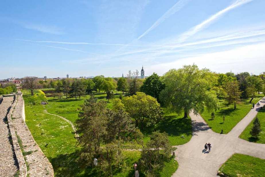 Park Kalemegdan Die schönsten Parks und Grünflächen in Belgrad, Serbien
