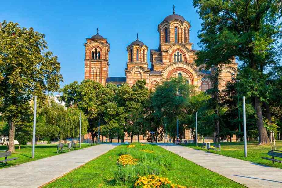 Park Tašmajdan Die schönsten Parks und Grünflächen in Belgrad, Serbien