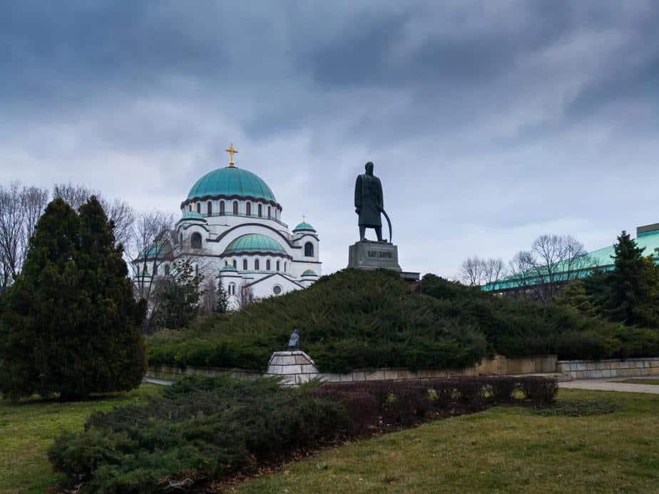 Park von Karađorđe Die schönsten Parks und Grünflächen in Belgrad, Serbien