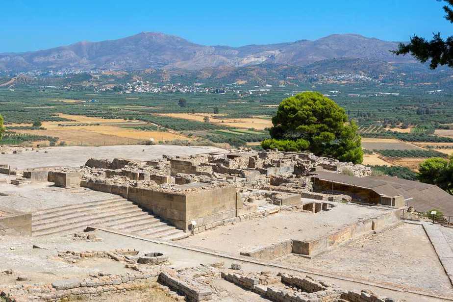 Phaistos Minoischer Palast Kreta Sehenswürdigkeiten - Die 20 besten Attraktionen