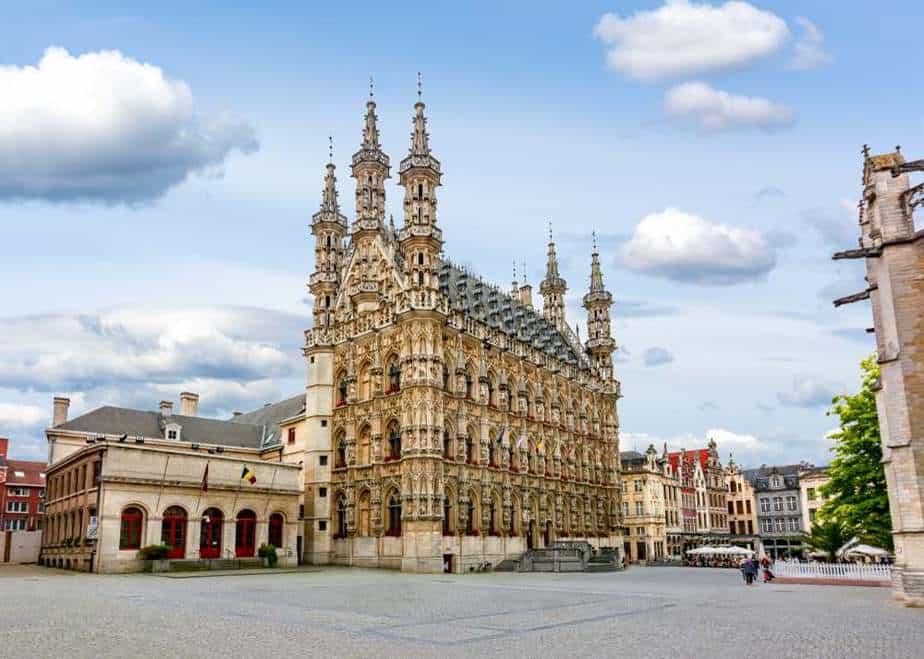 Rathaus von Löwen Belgien Sehenswürdigkeiten - Die 20 besten Attraktionen