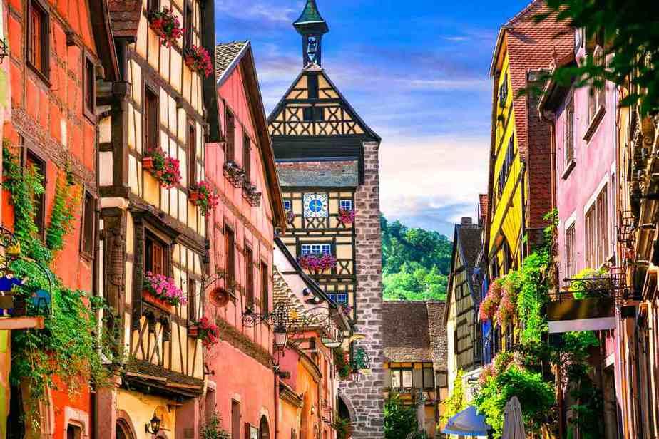 Riquewihr Die schönsten Dörfer Frankreichs
