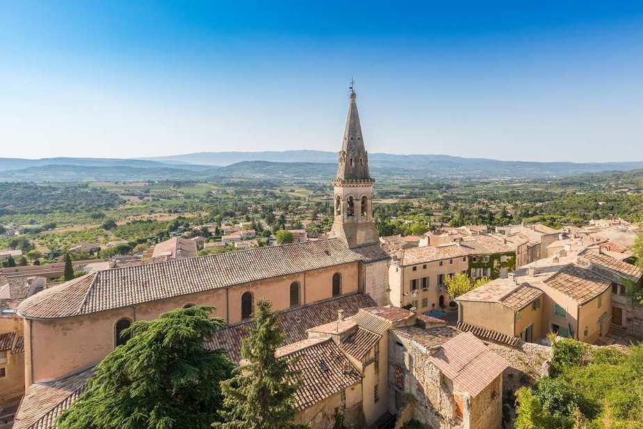 Saint Saturnin les Apt Die schönsten Dörfer Frankreichs