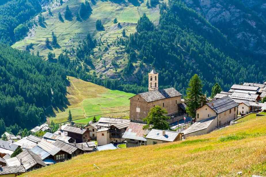 Saint Véran Die schönsten Dörfer Frankreichs