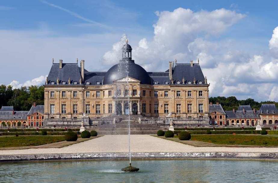 Schloss Vaux-le-Vicomte Die 7 schönsten Schlösser in Frankreich