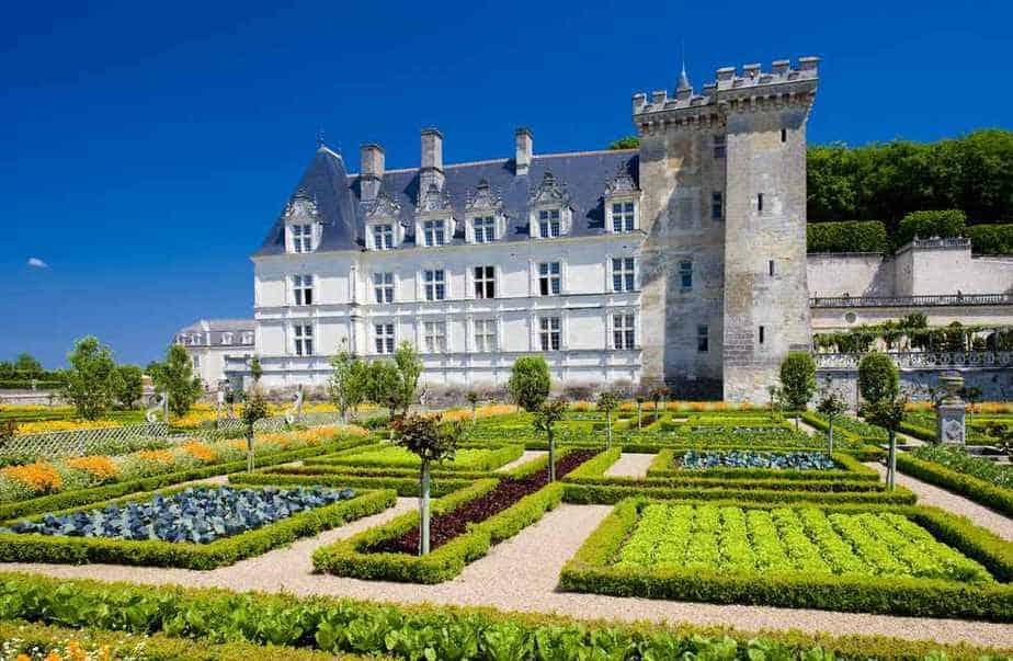 Schloss Villandry Die 7 schönsten Schlösser in Frankreich
