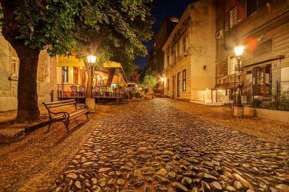 Skadarlija Die romantischsten Orte in Belgrad, Serbien