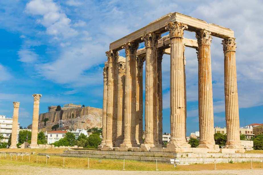 Tempel des Olympischen Zeus Athen Sehenswürdigkeiten - Die 20 besten Attraktionen