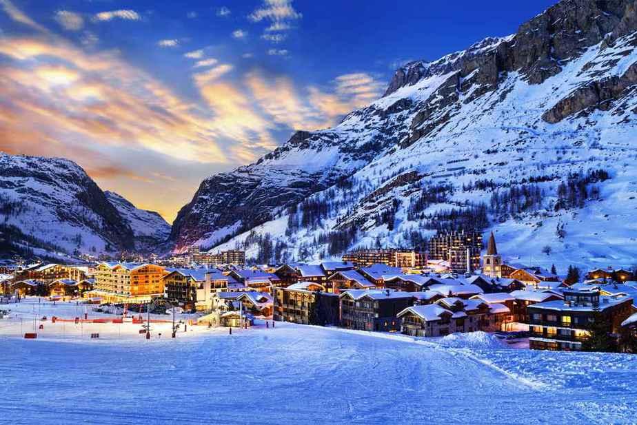 Val d'Isere Die 7 besten Skigebiete Frankreichs