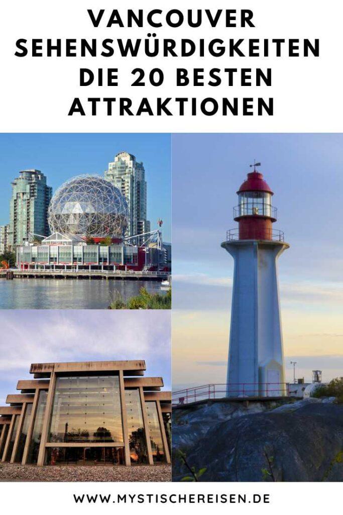 Vancouver Sehenswürdigkeiten - Die 20 besten Attraktionen
