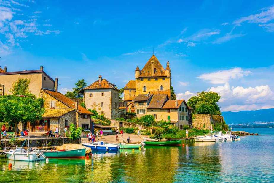 Yvoire Die schönsten Dörfer Frankreichs