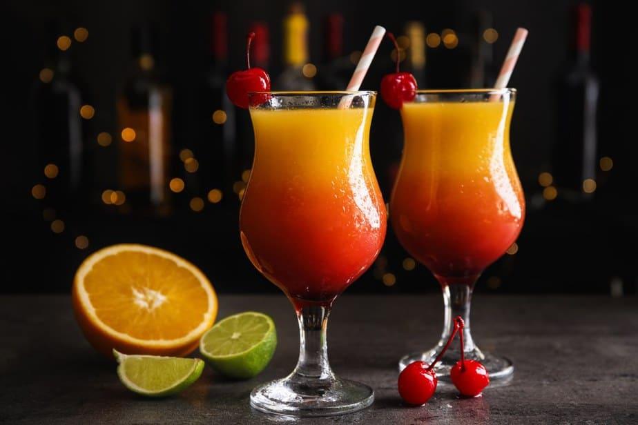 Tequila Sunrise Die besten Cocktails, die Sie auf Mauritius probieren müssen
