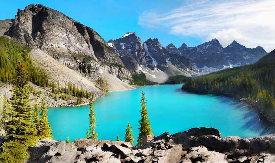 Banff-Nationalpark und Moränensee Kanada Sehenswürdigkeiten - Die 20 besten Attraktionen