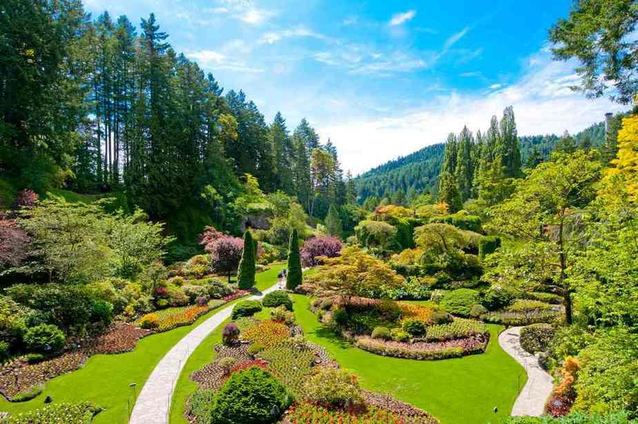 Butchart Gardens Kanada Sehenswürdigkeiten - Die 20 besten Attraktionen
