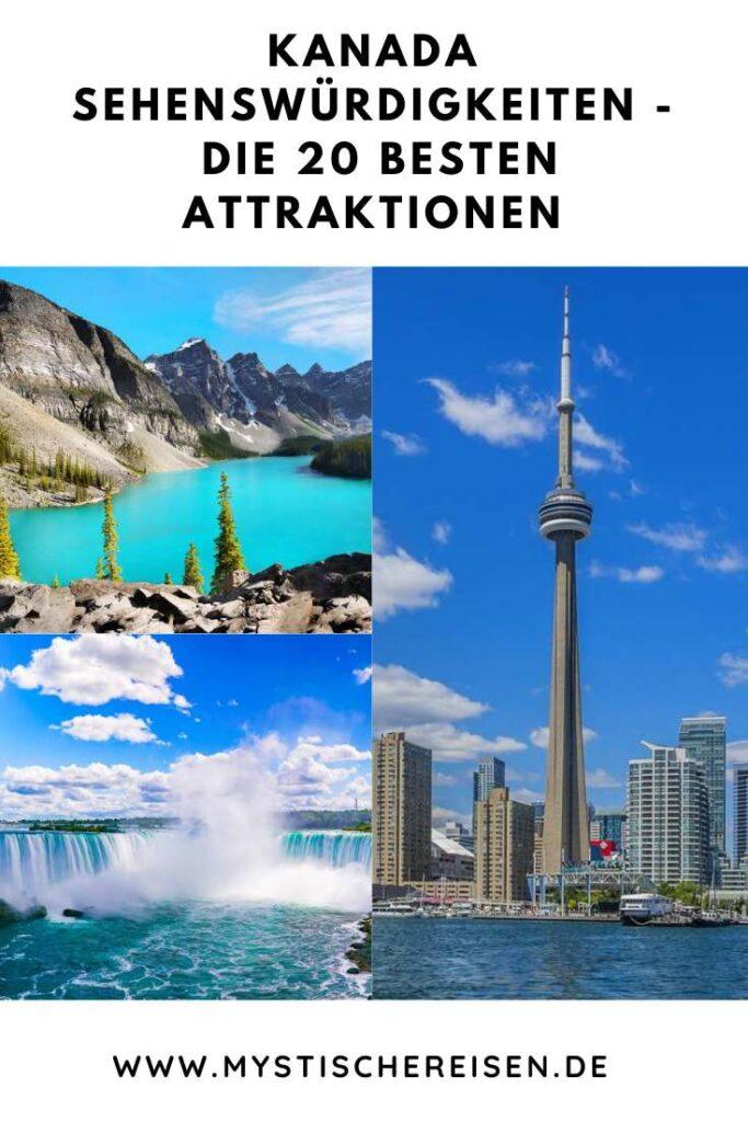 Kanada Sehenswürdigkeiten - Die 20 besten Attraktionen