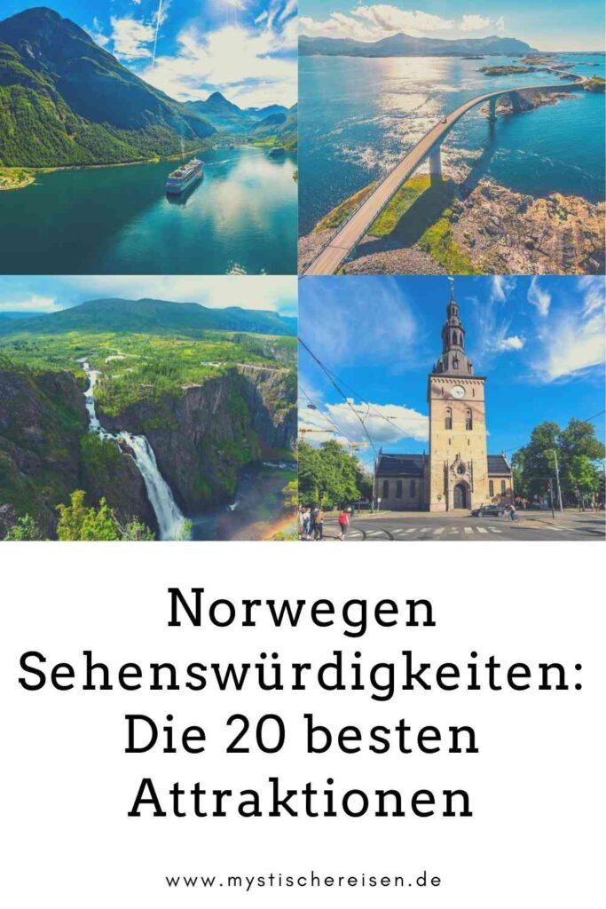 Norwegen Sehenswürdigkeiten: Die 20 besten Attraktionen
