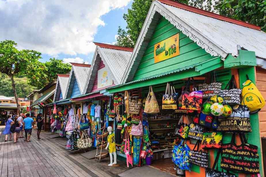 Ocho Rios Craft Park Märkte auf Jamaika, die einen Besuch wert sind