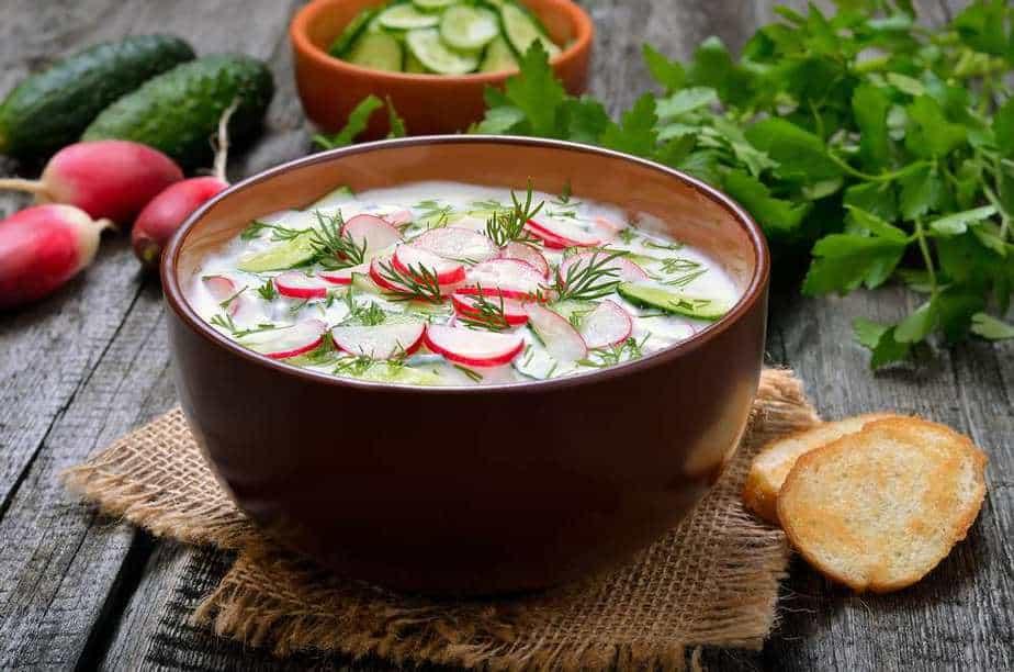 Okroshka Ukrainische Spezialitäten: 21 Typisch Ukrainische Essen, Die Sie Probieren Sollten