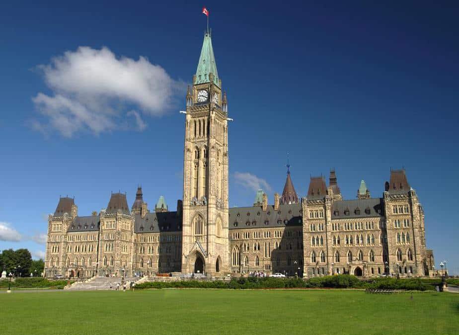 Ottawa's Parliament Hill Kanada Sehenswürdigkeiten - Die 20 besten Attraktionen