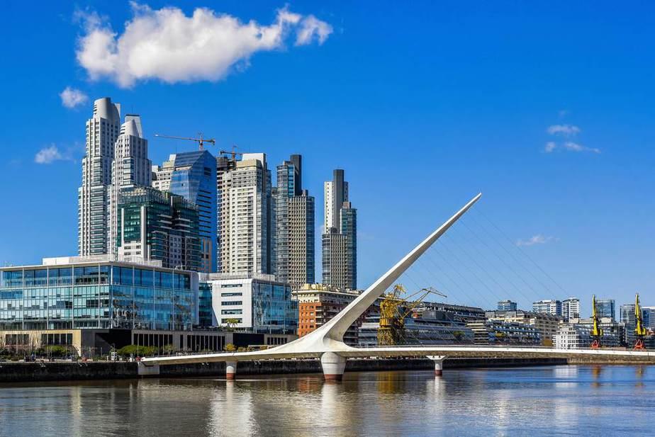 Puente de la Mujer - Frauenbrücke Buenos Aires Sehenswürdigkeiten: Die 22 besten Attraktionen