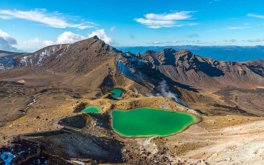 Tongariro-Nationalpark Neuseeland Sehenswürdigkeiten: Die 20 besten Attraktionen