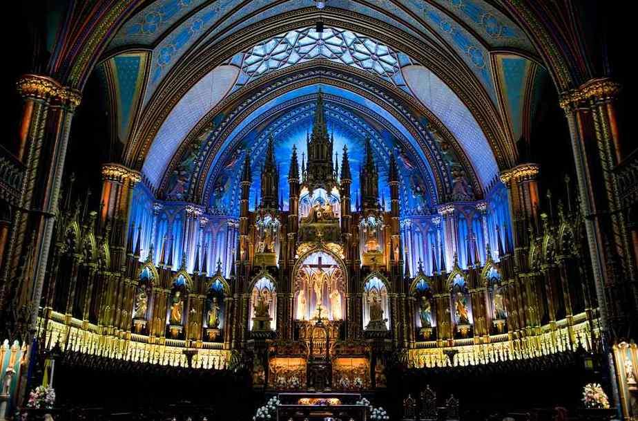 Notre-Dame de Montreal - Unsere Liebe Frau von Montreal Montreal Sehenswürdigkeiten: Die 22 besten Attraktionen